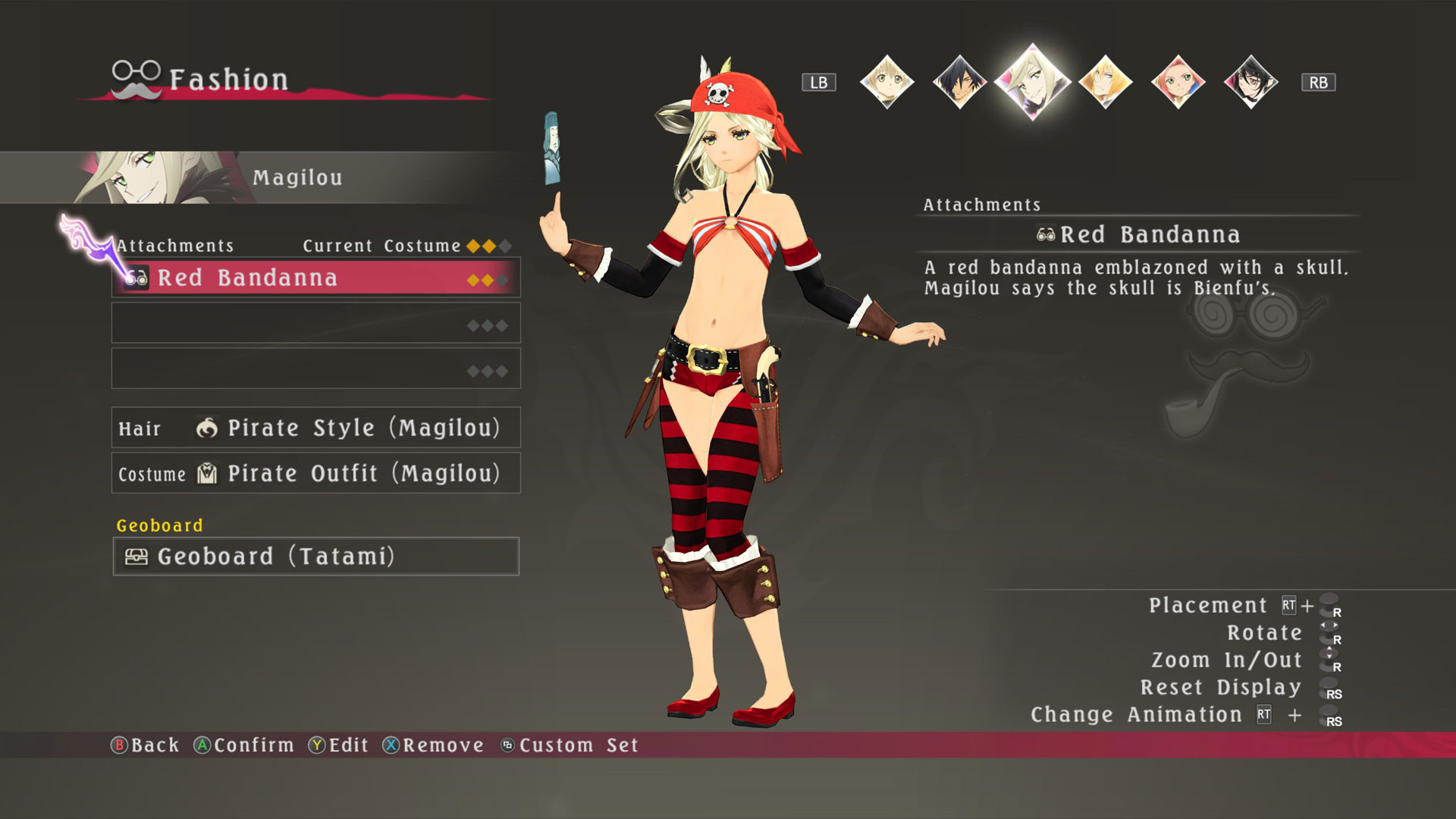 Tales of Berseria - Pirate Costumes Set screenshot