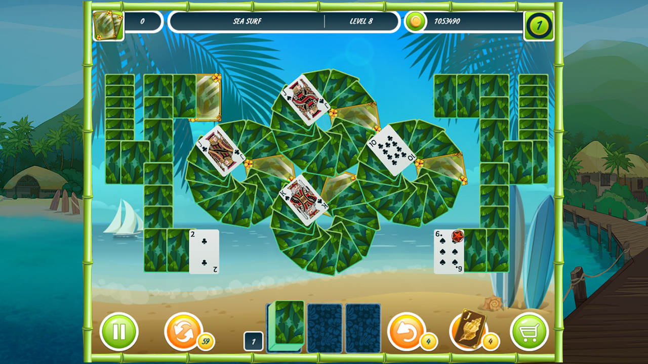 Solitaire Beach Season screenshot