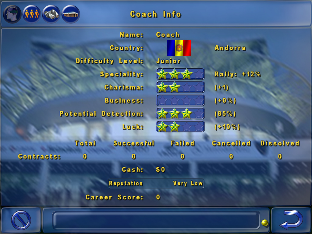 Tennis Elbow Manager screenshot