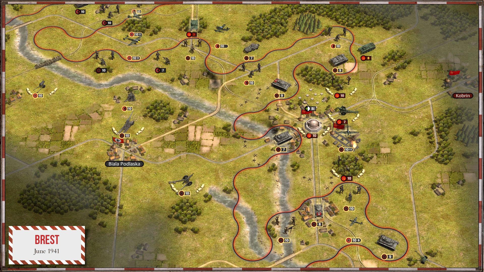 Order of Battle: Blitzkrieg screenshot