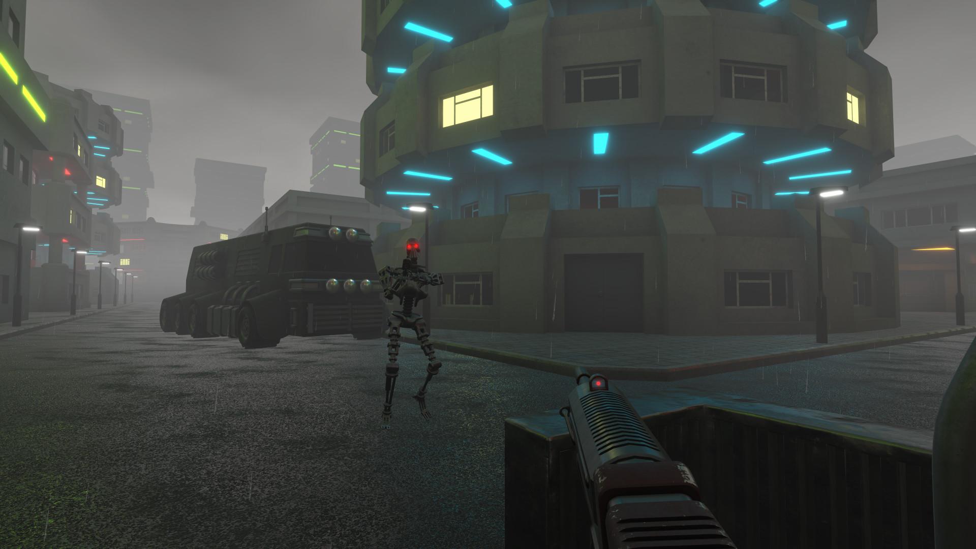 Robot Incursion screenshot