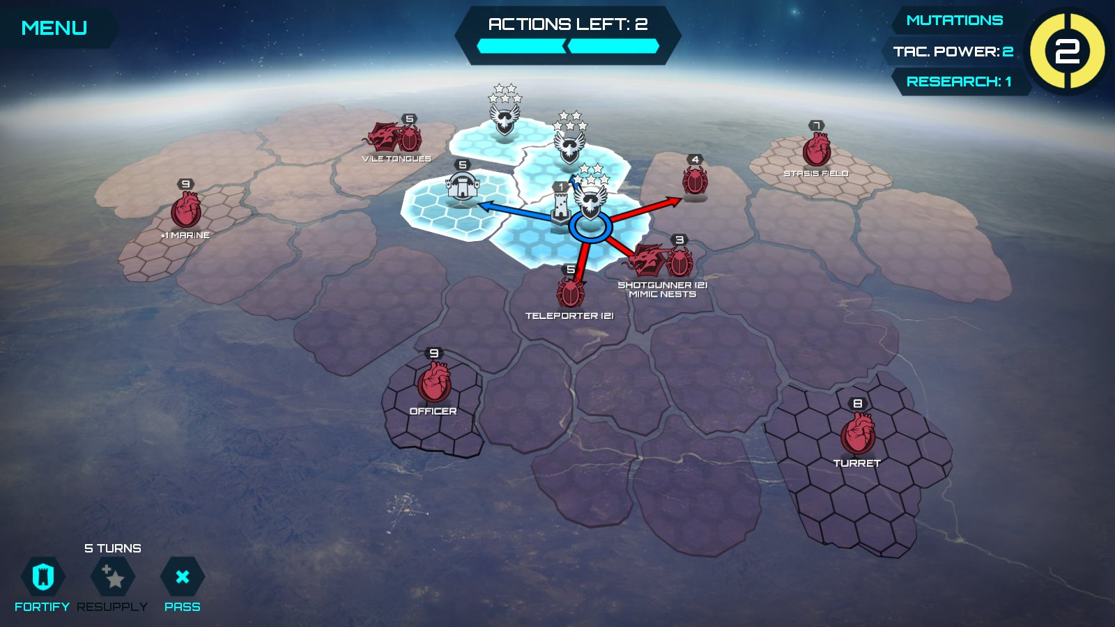 Infested Planet - Planetary Campaign screenshot