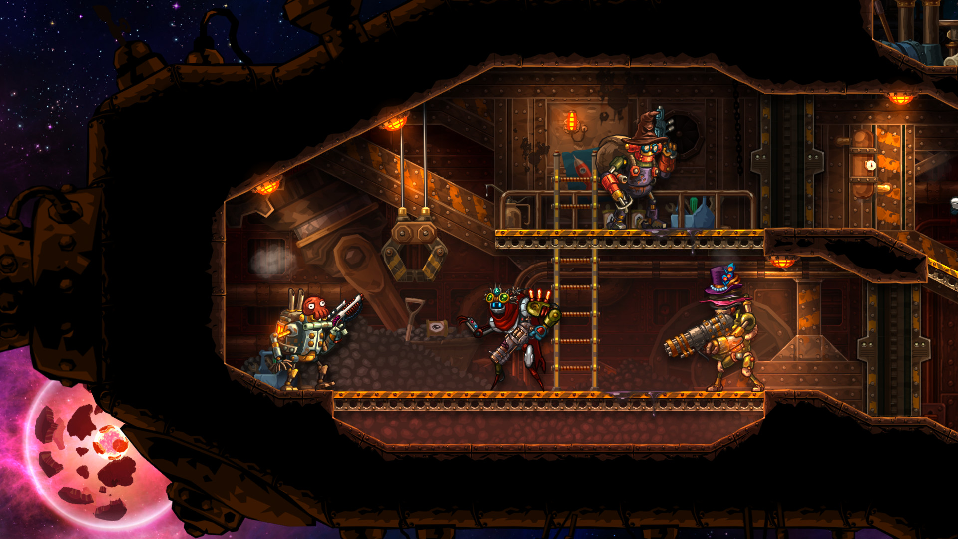 Hatbox: Hatful Eight + 2 (SteamWorld Heist) screenshot