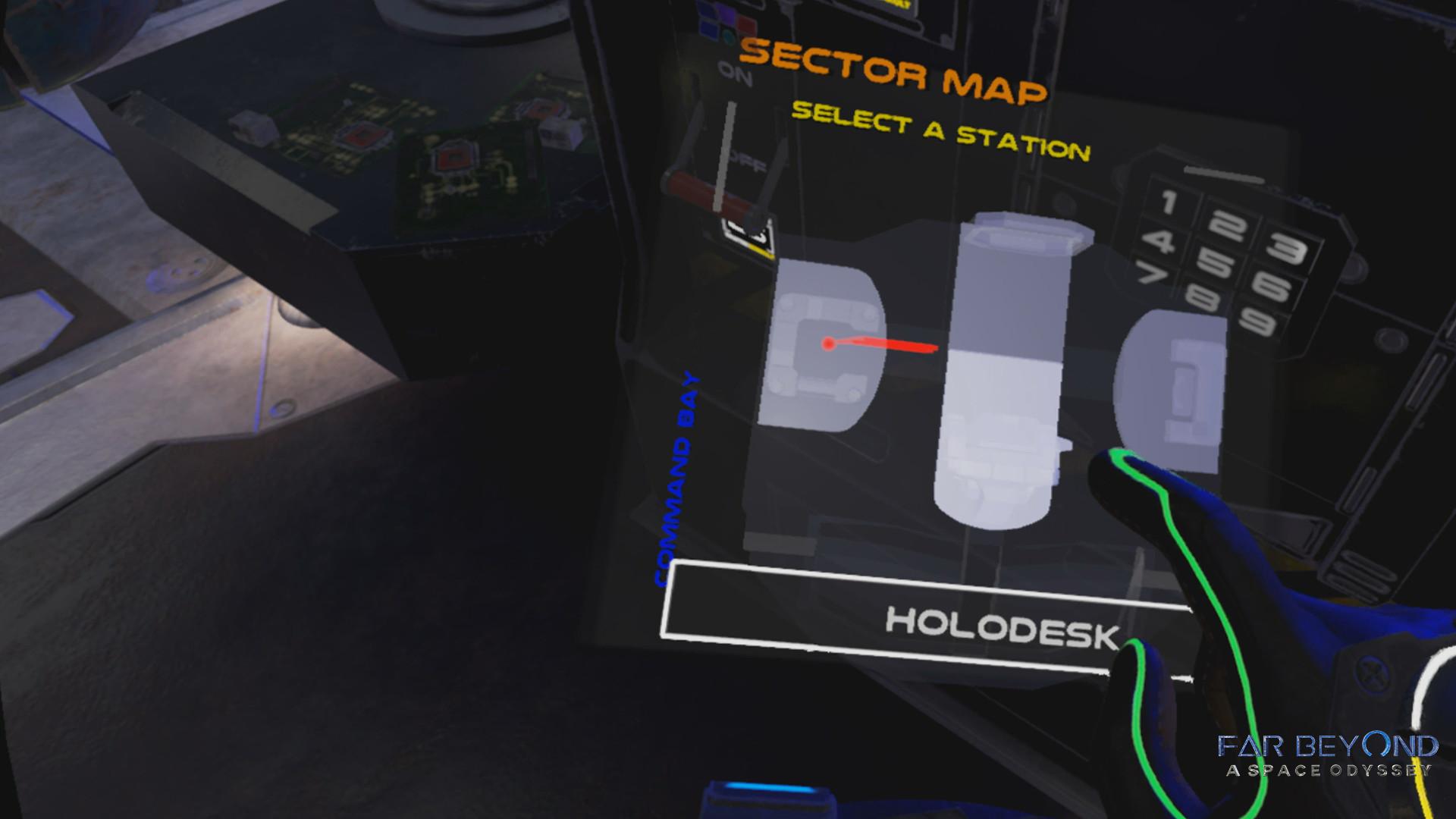 Far Beyond: A space odyssey VR screenshot