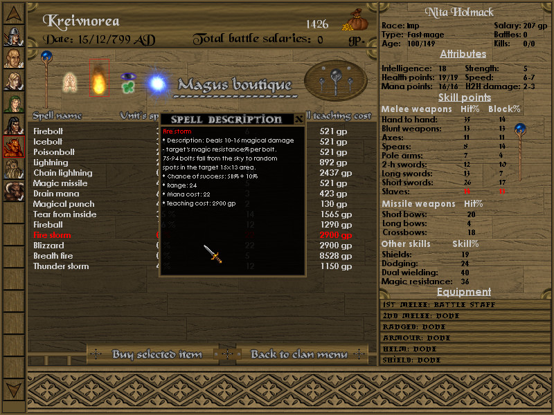 Battles of Norghan screenshot