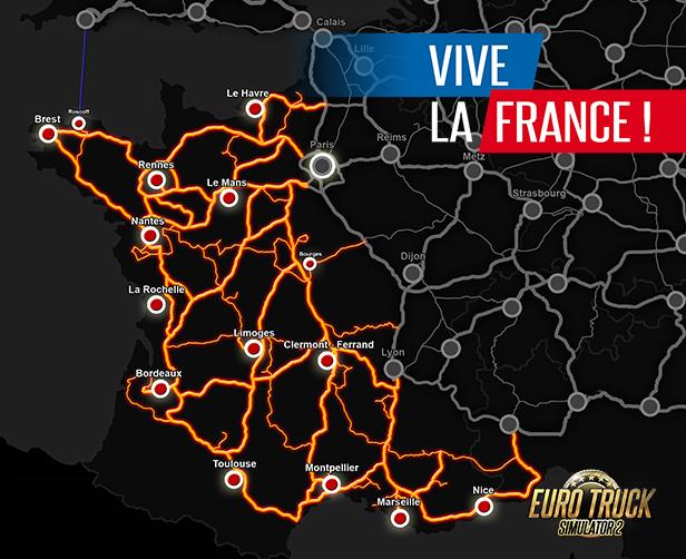 Euro Truck Simulator 2 Vive La France On Steam