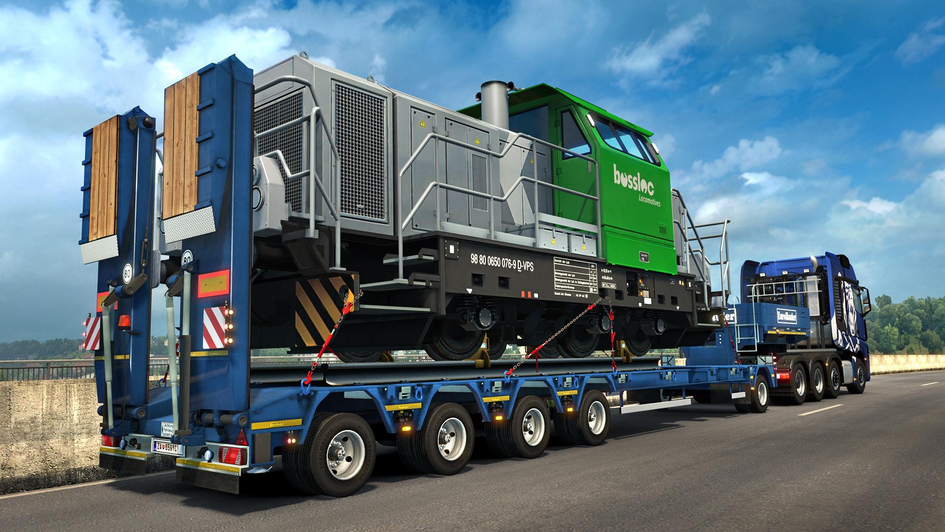 euro truck simulator 2 heavy cargo pack dlc download updated. Black Bedroom Furniture Sets. Home Design Ideas