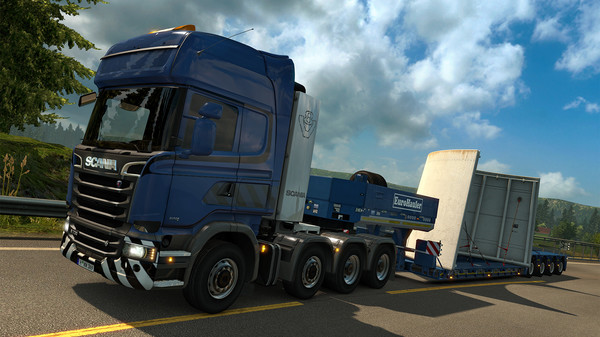 скачать игру Euro Truck Simulator 2 2017 через торрент - фото 3