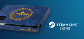 Steam Link Skin - CSGO Blue Camo