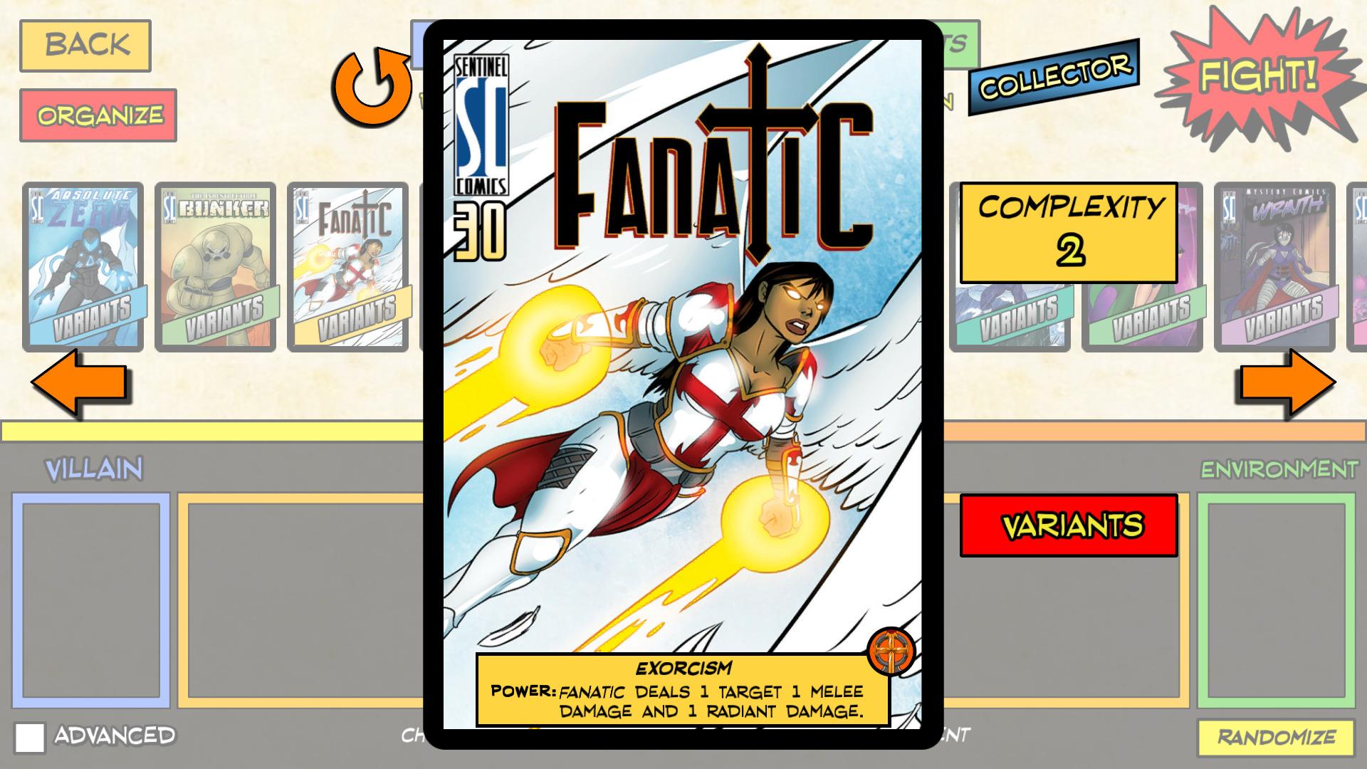 Sentinels of the Multiverse - Digital Foil Hero Collector's Pack screenshot