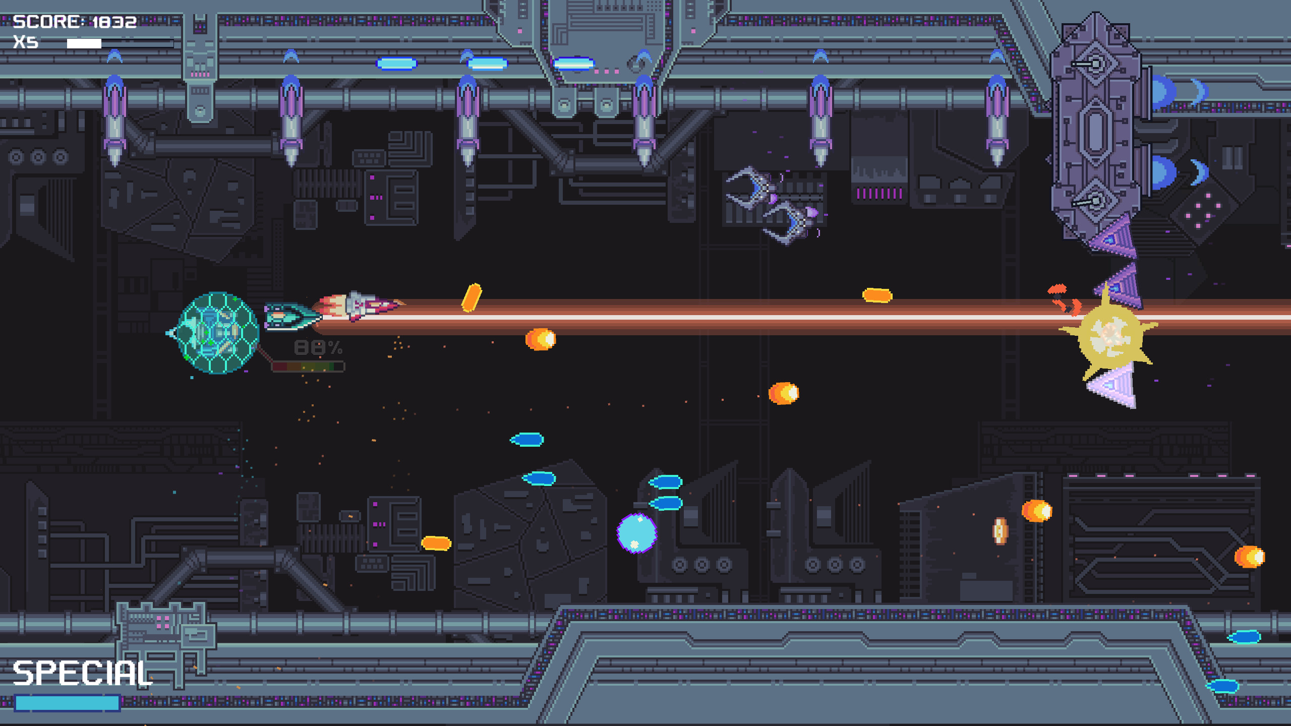 Rebel Story: A Roguelike Bullet Hell screenshot