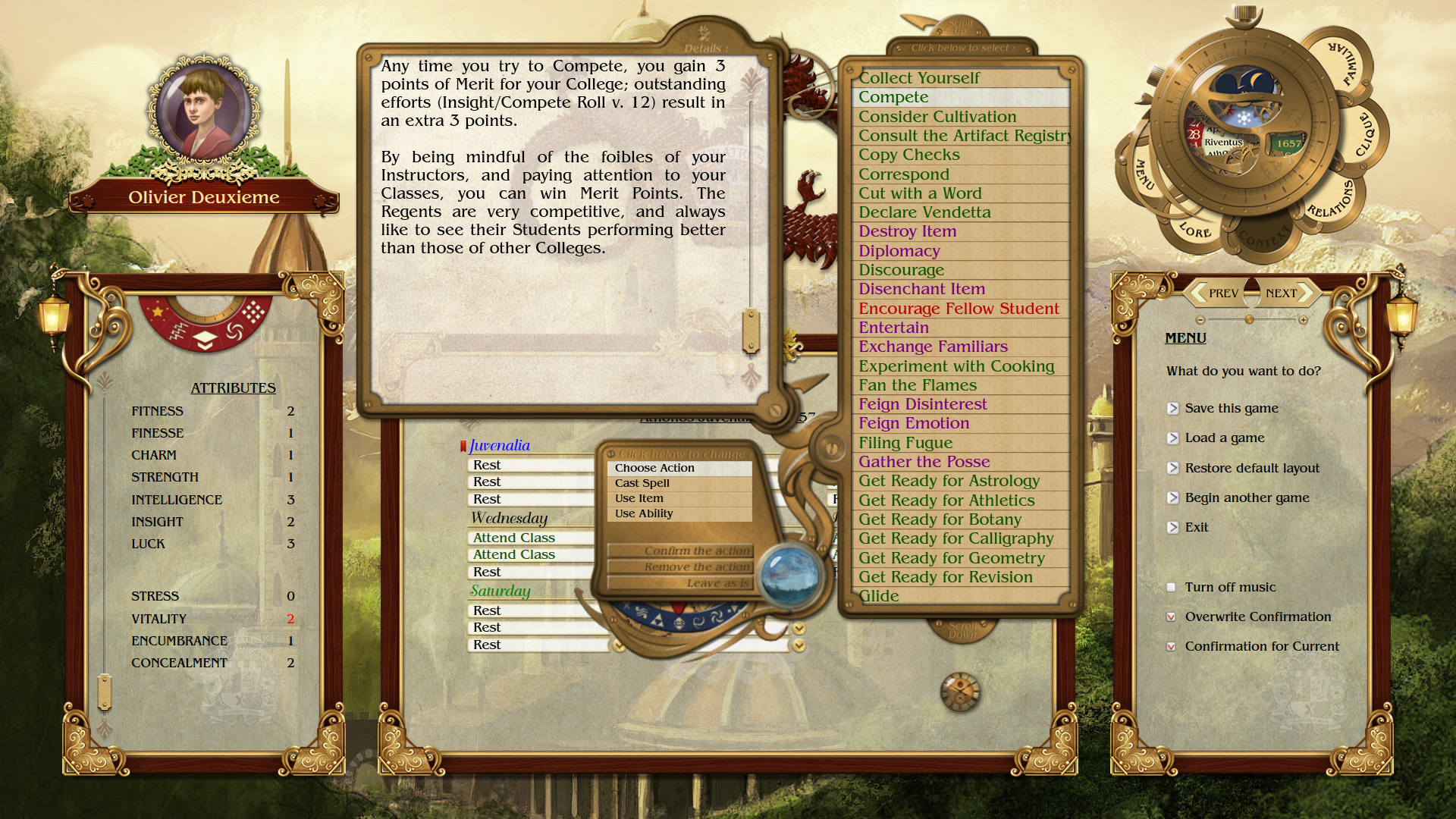 Academagia: The Making of Mages Screenshot 3