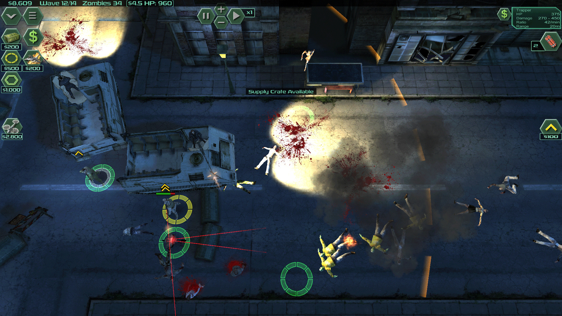 Zombie Defense is a Mobile game, now available on Steam Store.