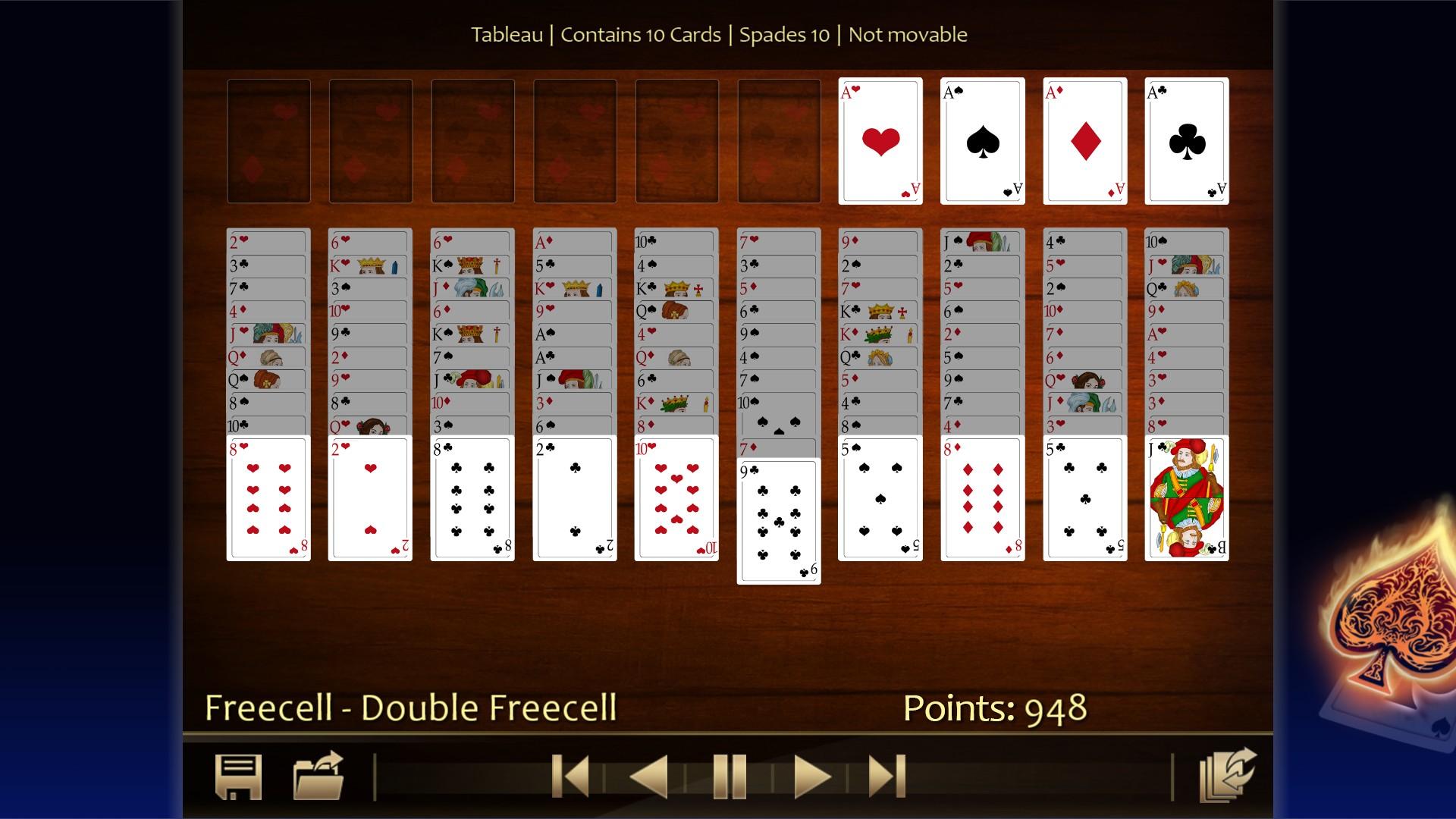 Solitaire 220 Plus screenshot