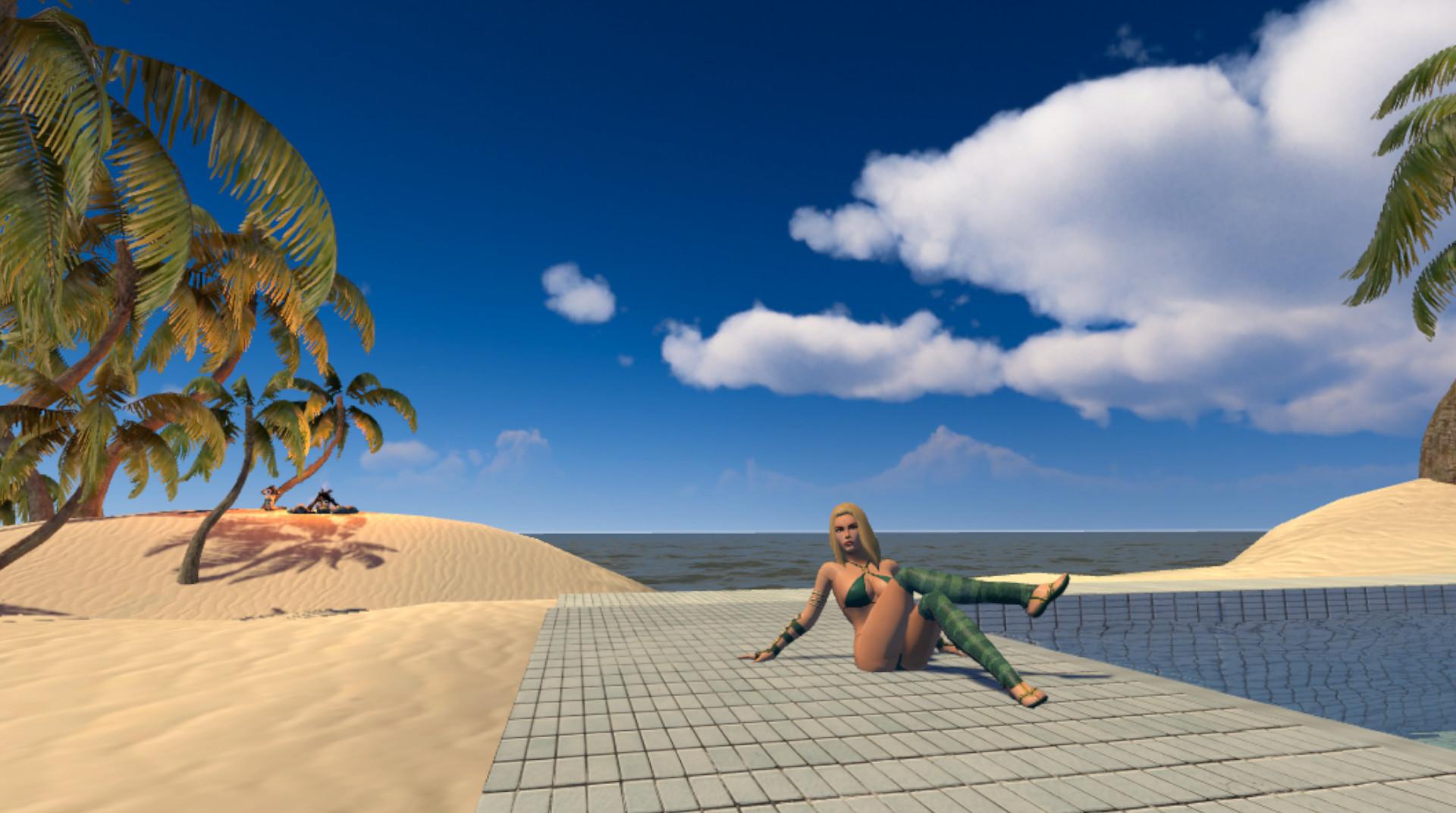 Tropical Girls VR screenshot