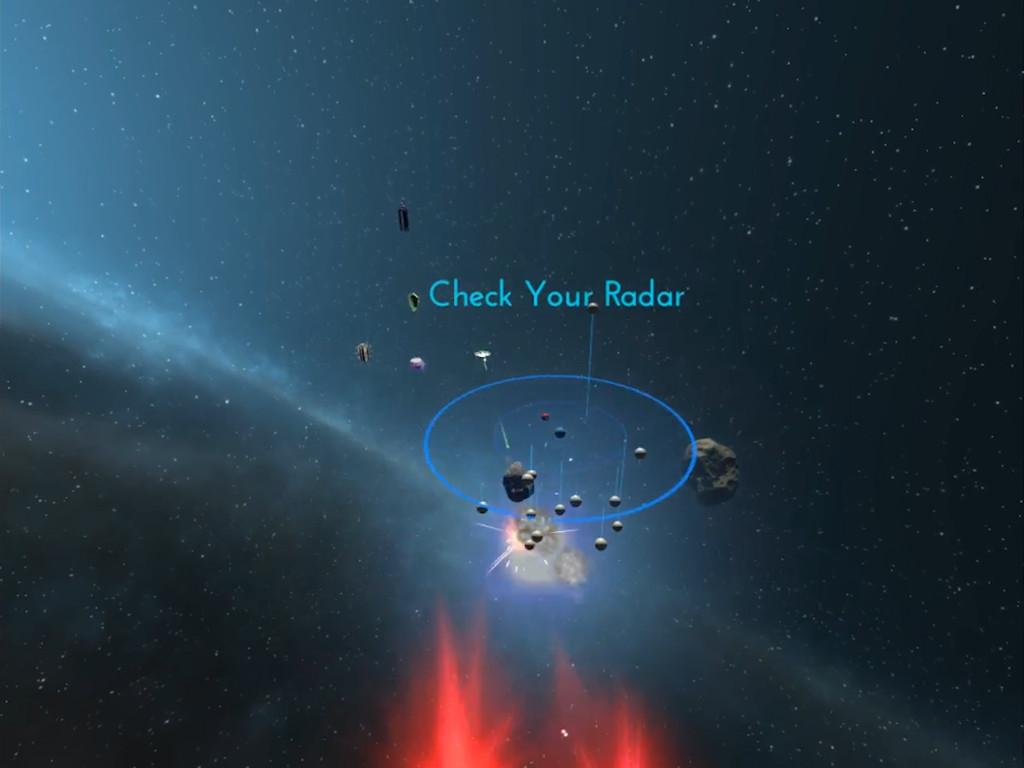 Asteroid Blaster VR screenshot