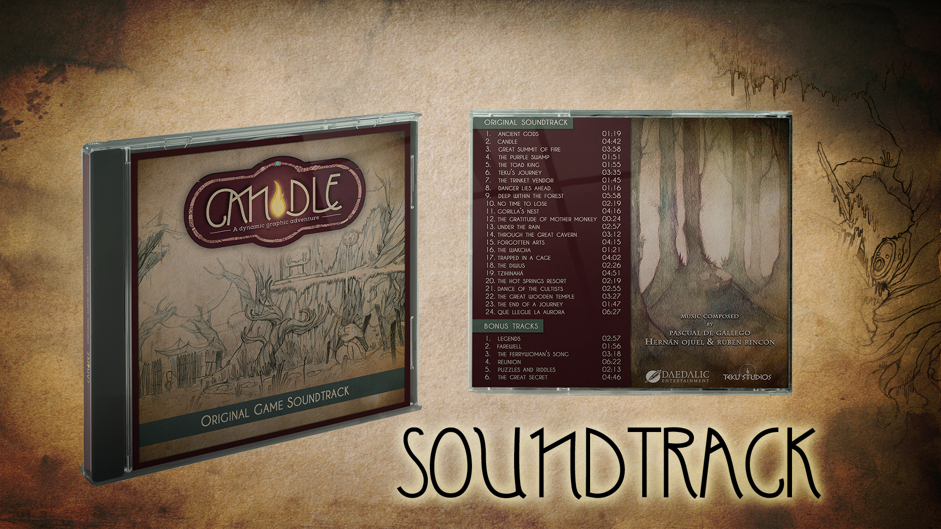 Candle Soundtrack + Artbook screenshot