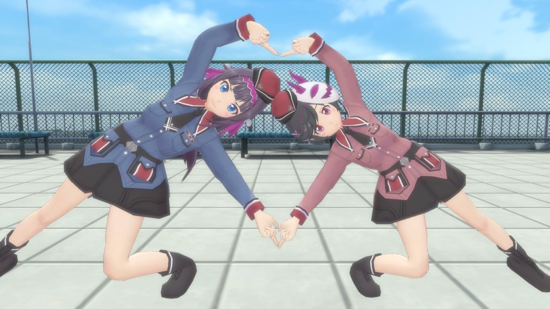 Gal*Gun: Double Peace - 'Sakurazaki Squad 777' Costume Set screenshot