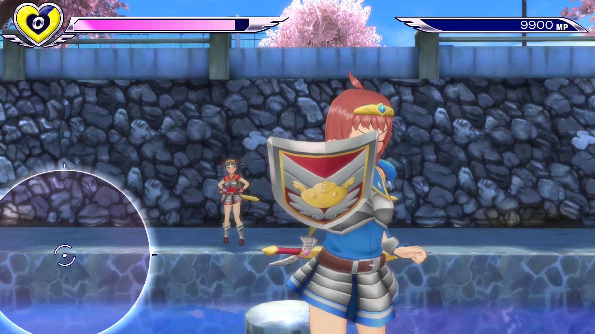 Gal*Gun: Double Peace - 'Courageous Hero' Costume Set screenshot
