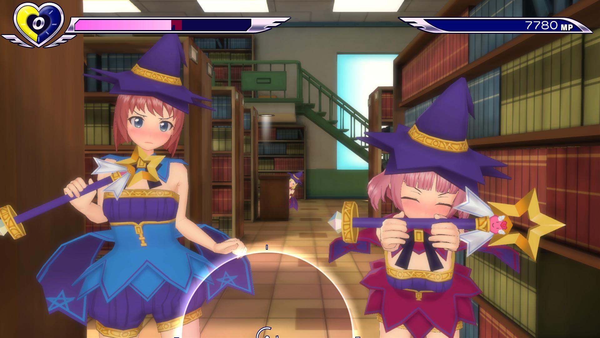 Gal*Gun: Double Peace - 'Bewitching Sorceress' Costume Set screenshot