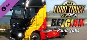 Euro Truck Simulator 2 - Belgian Paint Jobs Pack