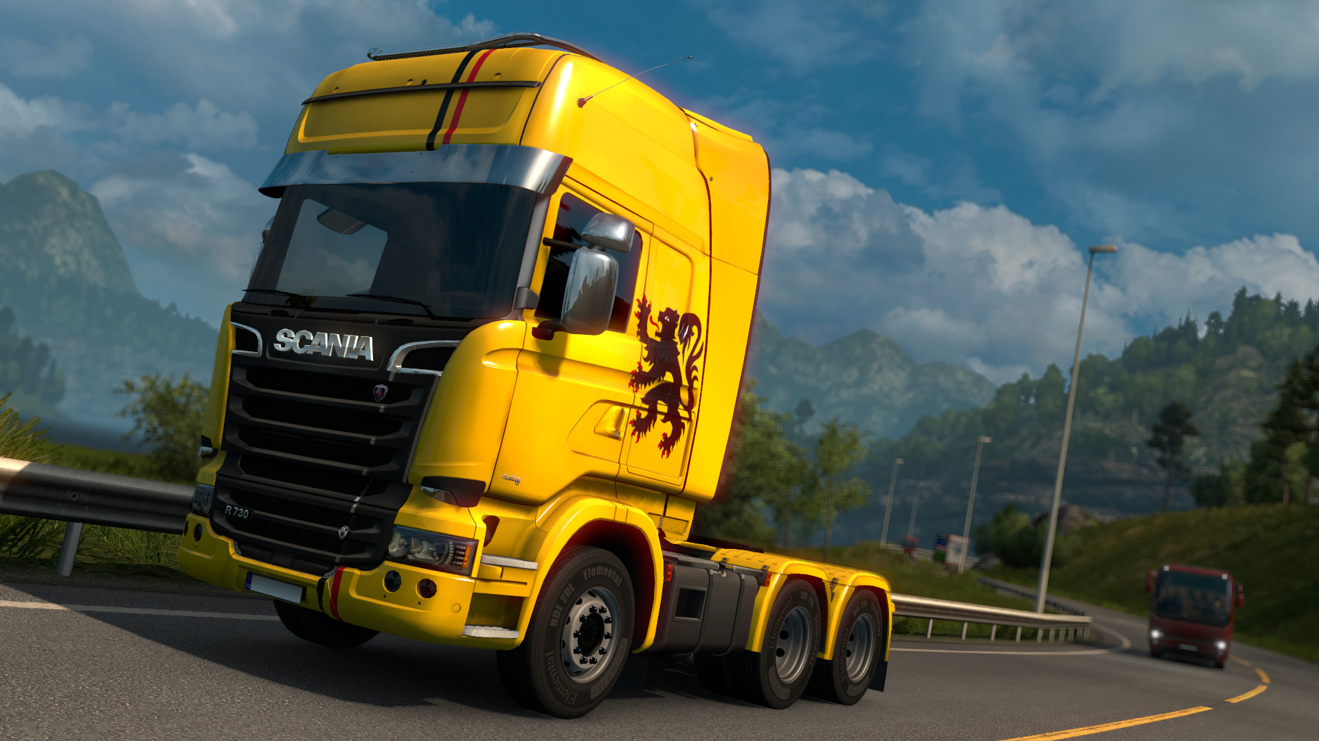 Euro Truck Simulator 2 - Belgian Paint Jobs Pack screenshot