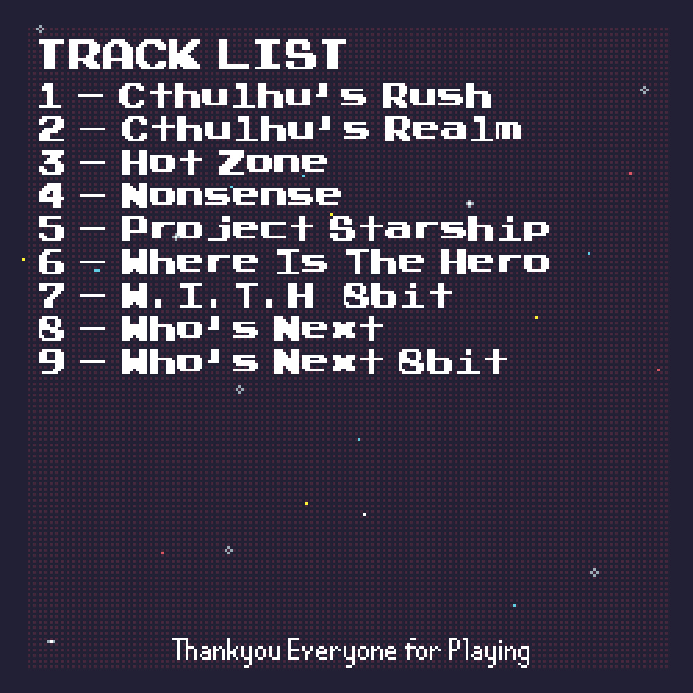 Project Starship OST screenshot