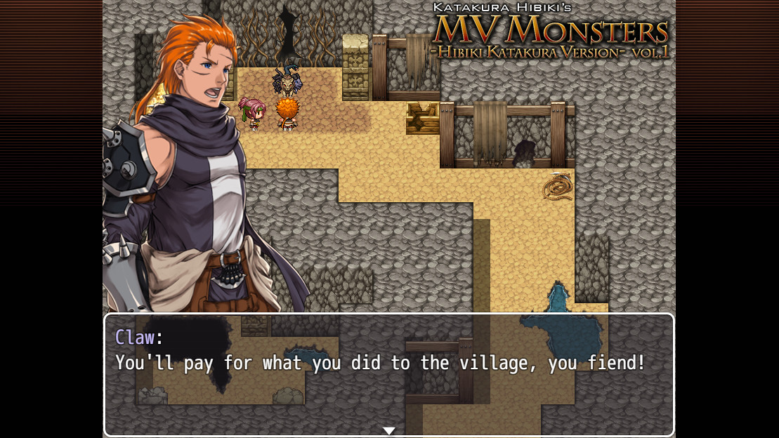 RPG Maker MV - MV Monsters HIBIKI KATAKURA ver Vol.1 screenshot
