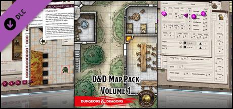 Fantasy Grounds - D&D Map Pack Volume 1