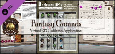 Fantasy Grounds - Darkwoulfe's Token Pack Volume 16