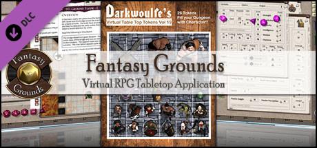 Fantasy Grounds - Darkwoulfe's Token Pack Volume 19