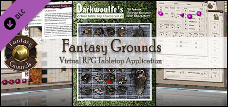Fantasy Grounds - Darkwoulfe's Token Pack Volume 20