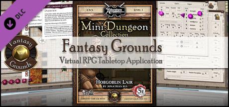 Fantasy Grounds - Mini-Dungeon Collection: Hobgoblin Lair (5E)