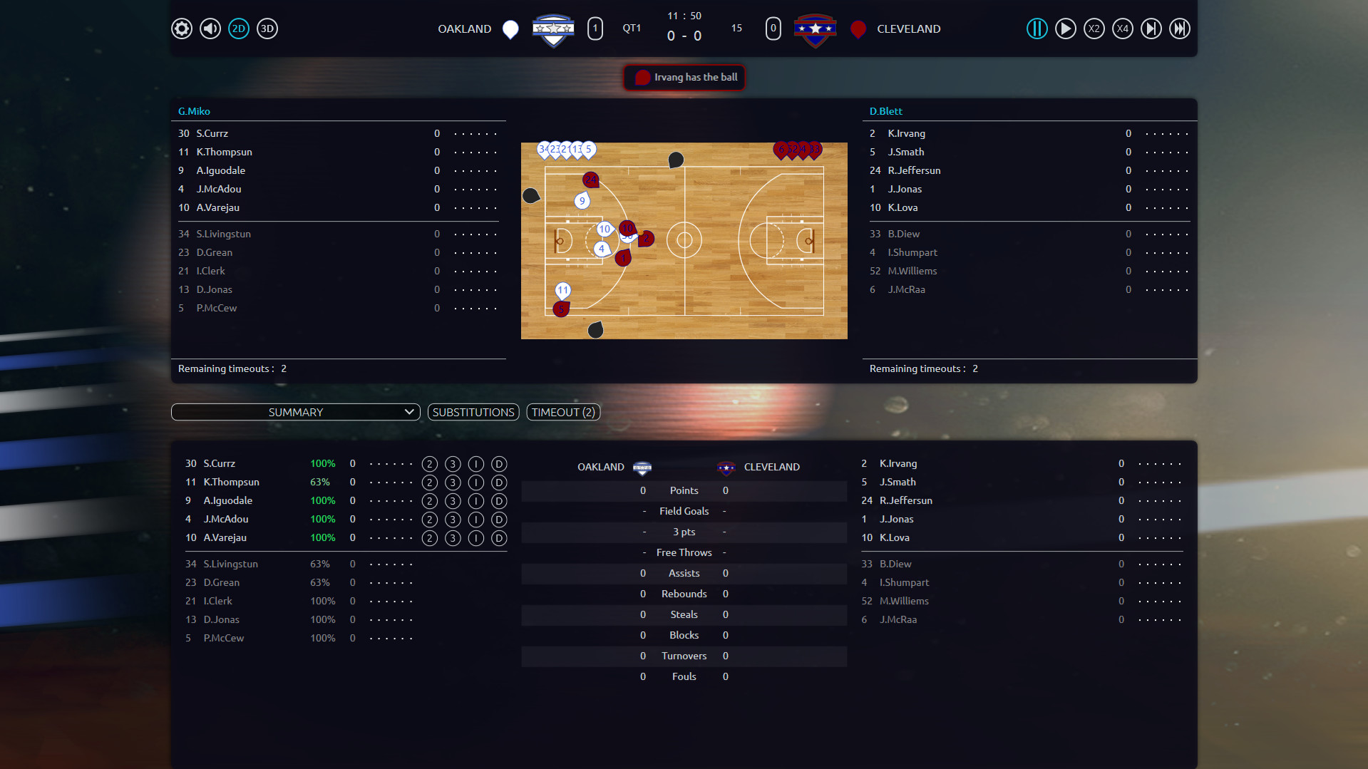 Pro Basketball Manager 2017 Screenshot 1