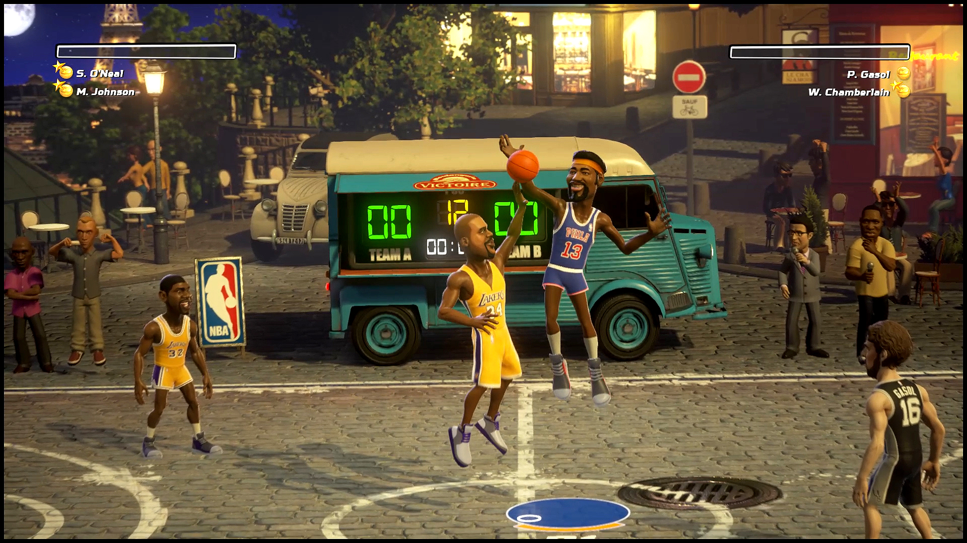 NBA Playgrounds Screenshot 2