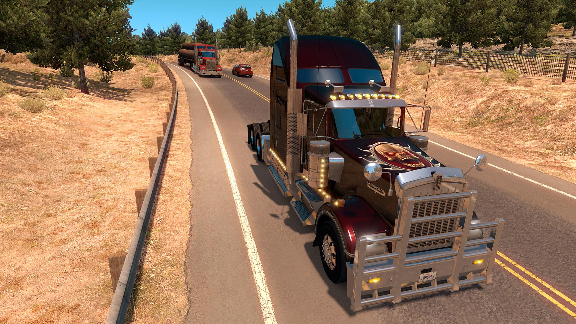 American Truck Simulator - Halloween Paint Jobs Pack screenshot