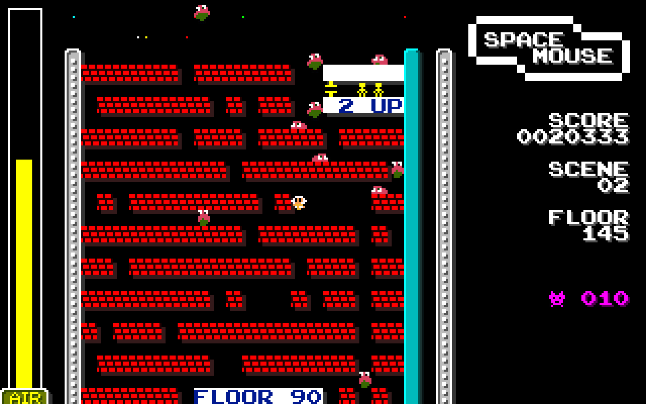 SPACE MOUSE 35th Anniversary edition screenshot