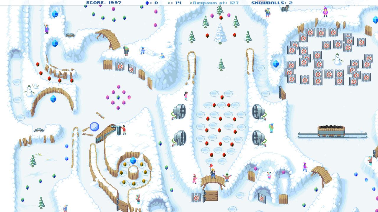 Snowball! screenshot