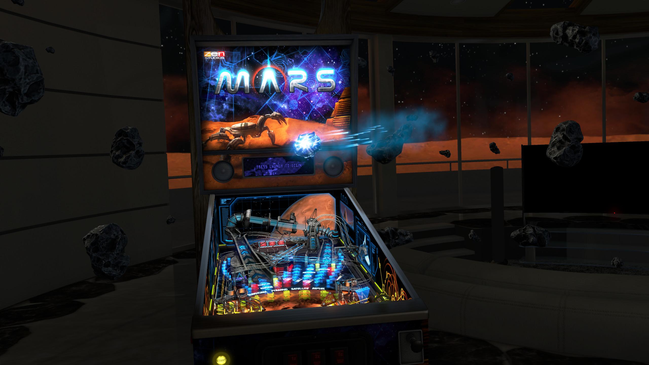 Pinball FX2 VR screenshot