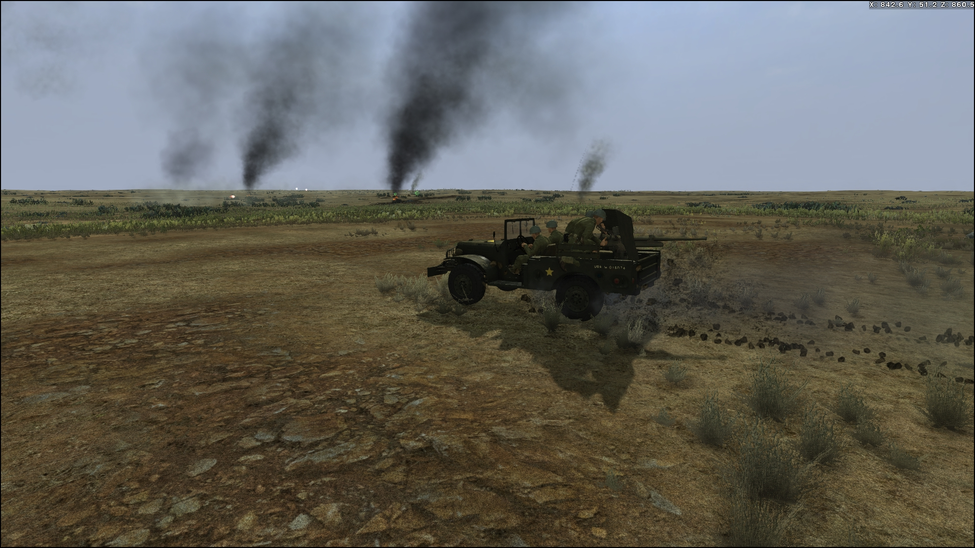 Tank Warfare: Tunisia 1943 screenshot