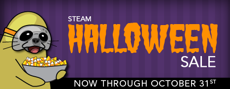 in fact thats our steam halloween pledge to you sensible savings and we are going to murder a skeleton - Halloween Sale