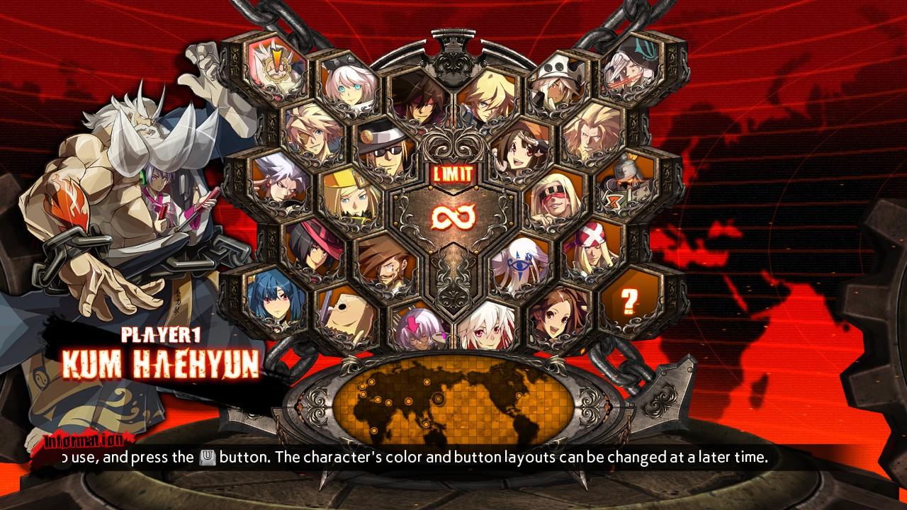 Additional Playable Character KUM HAEHYUN