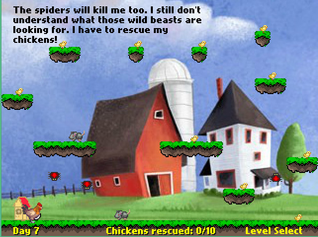 Rescue your chickens screenshot