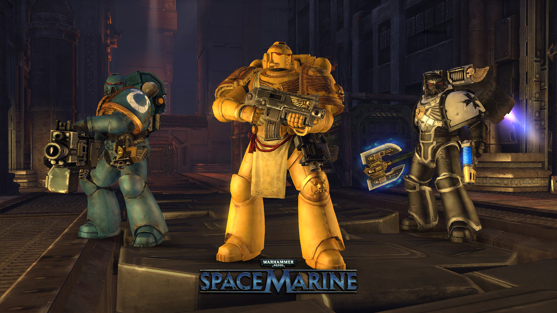 Warhammer 40,000: Space Marine screenshot