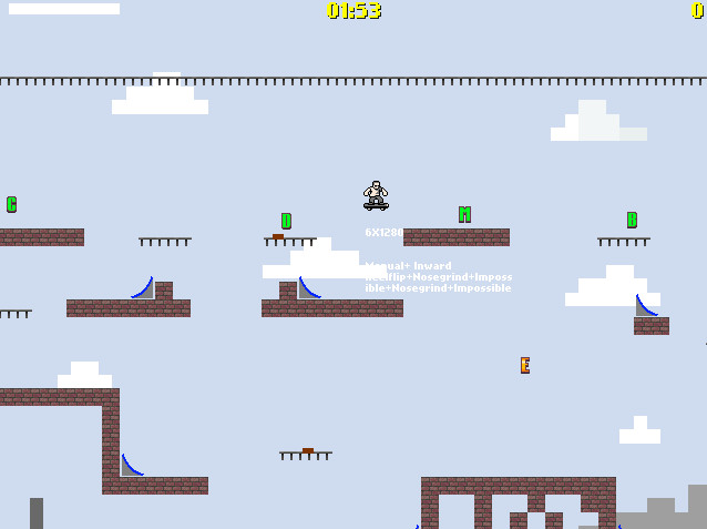 Skater 2D screenshot