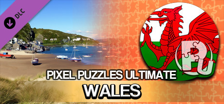 Jigsaw Puzzle Pack - Pixel Puzzles Ultimate: Wales