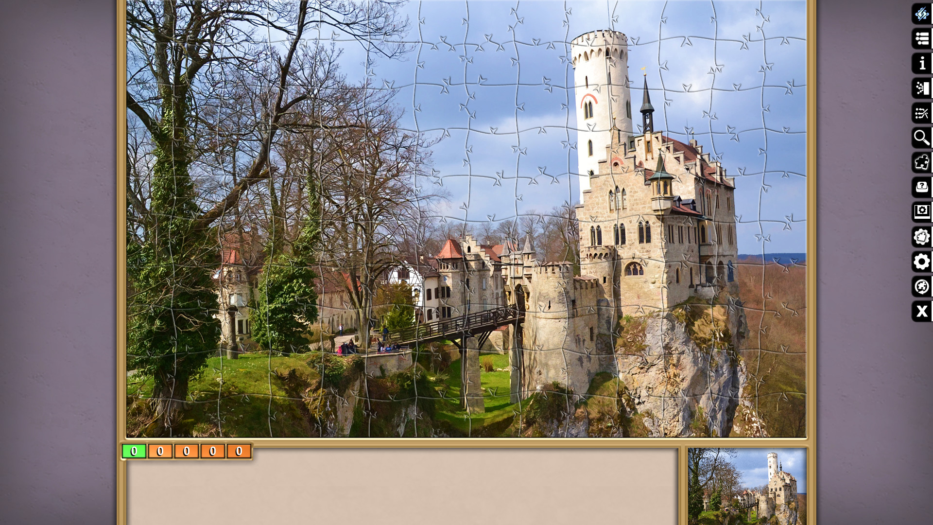 Jigsaw Puzzle Pack - Pixel Puzzles Ultimate: Castles screenshot