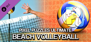 Pixel Puzzles Ultimate - Puzzle Pack: Beach Volleyball