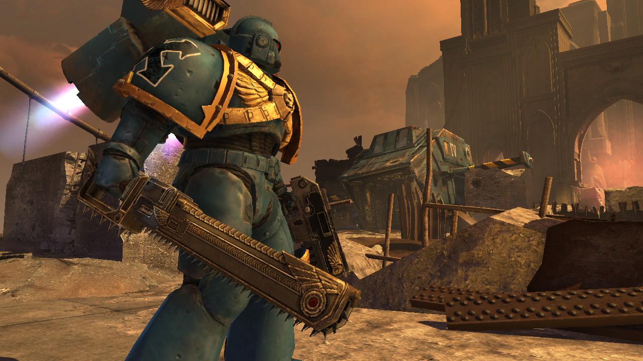 Warhammer 40,000: Space Marine - Golden Relic Chainsword screenshot