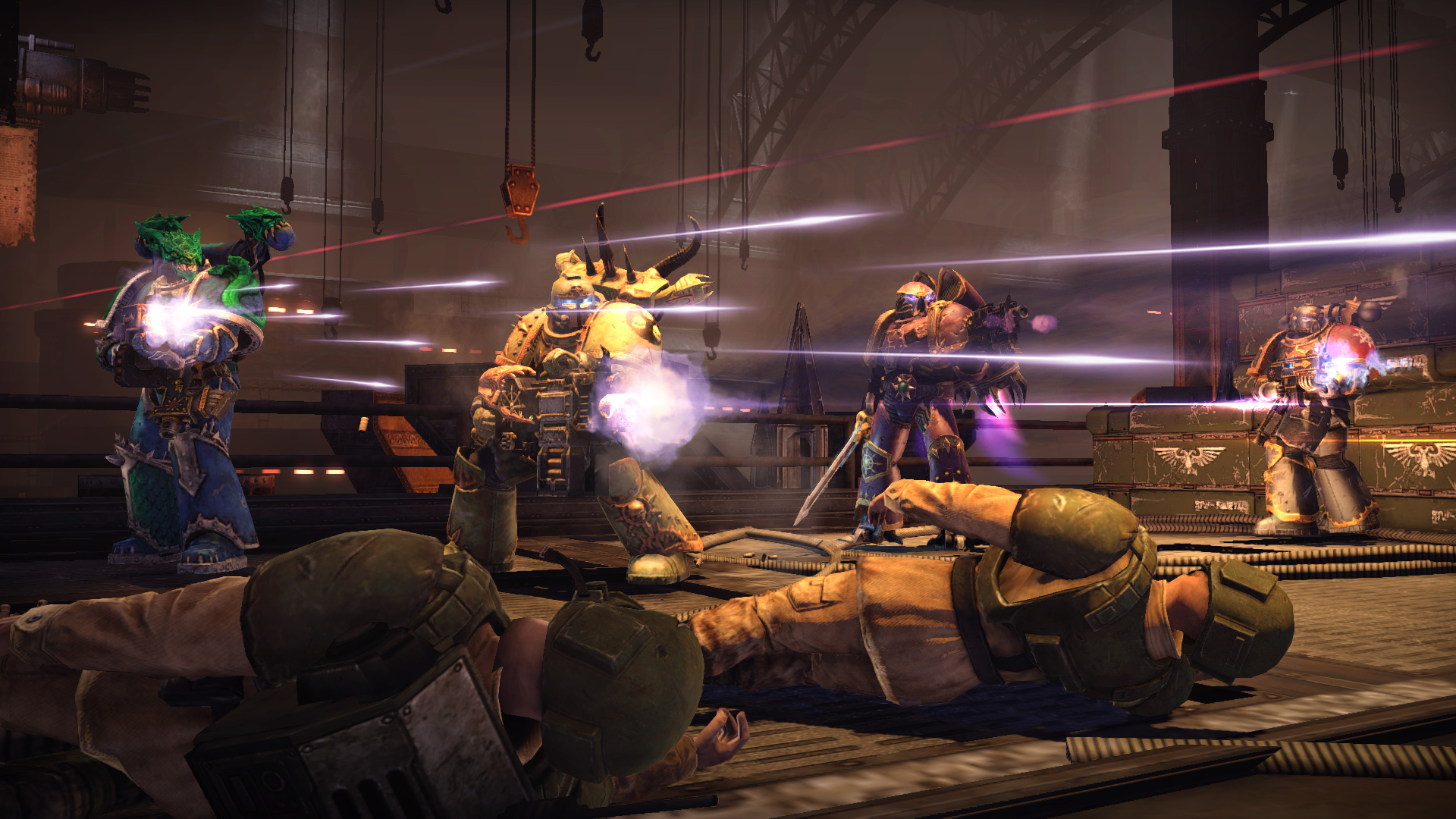 Warhammer 40,000: Space Marine - Chaos Unleashed Map Pack screenshot